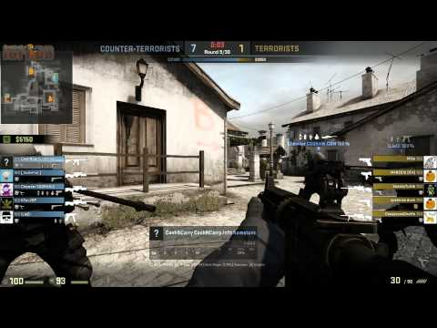 Counter-Strike: Global Offensive: CashNCarry.info $P€C|€$ competetive match #14