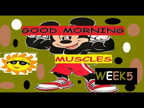 Good Morning Muscles Episode 26: Memorial Day! Teach Physical Education Gym at Home Kids Fitness