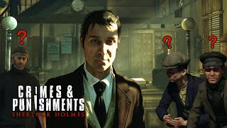 Sherlock Holmes Crimes & Punishments - The Fate of Black Peter Case Endings (HD)