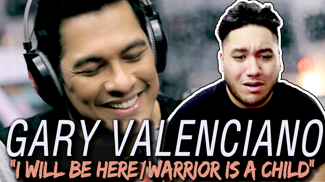 Gary Valenciano - I Will Be Here / Warrior is a Child (LIVE on Wish 107 5  Bus) REACTION!!!