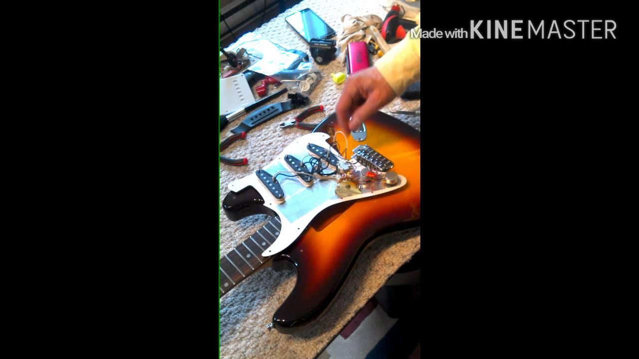 Electric guitar electronics upgrade - YouTube