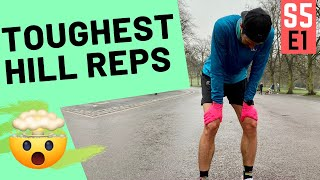 HILL REPS session.. for MARATHON RUNNING SUCCESS! Get STRONG!