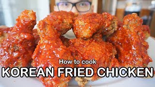 How to cook KOREAN FRIED CHICKEN-  Yangnyeom-Tongdak: 양념통닭