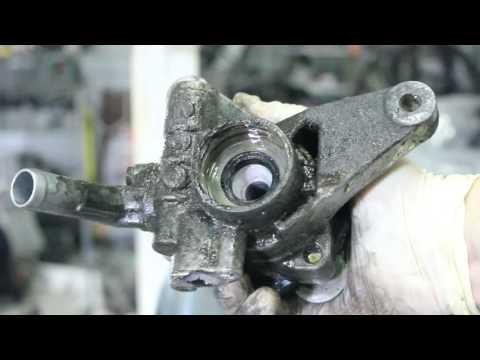 Ремонт насоса гур (гидроусилителя) своими руками. Замена сальников и подшипника. Acura Honda