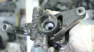 Ремонт насоса гур (гідропідсилювача) своїми руками. Заміна сальників і підшипника. Acura, Honda