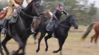 Hubertus 5.11.2016r - Stajnia Konie na Nieboskłonie - Gonitwa w galopie