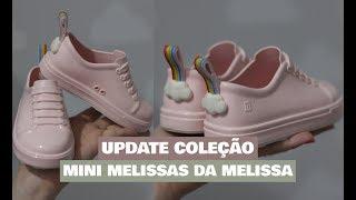 OS NOVOS MODELOS DE MINI MELISSA - UPDATE COLEÇÃO BEBÊ MELISSEIRA