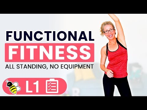 25 Minute FUNCTIONAL Fitness Bodyweight Strength and Mobility Workout for Women over 50