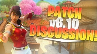 BIG CHANGES TO FORTNITE IN PATCH v6.10