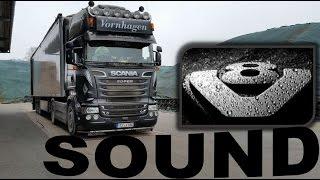 Scania V8 SOUND beim Maisladen mit Merlo TurboFarmer