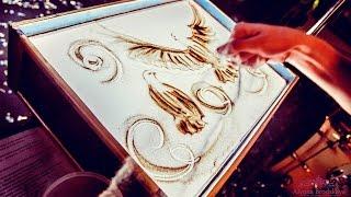 """Романтичное видео от песочного художника Татьяны Кравченко - """"Семья"""". Sandshow,sandart,песочное шоу"""