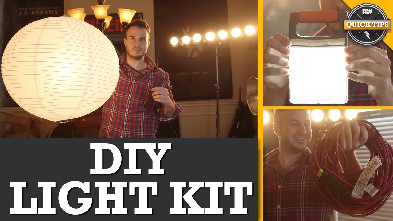 Quick Tips: DIY Lighting Kit! - YouTube