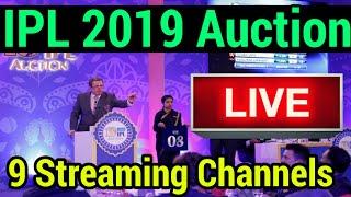 ipl auction live 2018