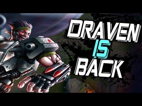 DRAVEN is BACK!! - Destroying •LOW ELO• [Best Moments] - Best Draven World - Vincent´s Draven