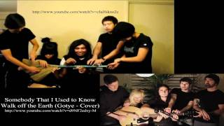 Gambar cover Somebody That I Used to Know - Walk off the Earth (Gotye - Cover)