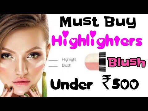 Highlighters/Blush under Rs 500 | Affordable Makeup Products in India | Discount Makeup | JSuperKaur