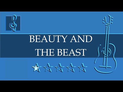 Acoustic Guitar Duet - Beauty And The Beast - Disney (Sheet music - Guitar chords)