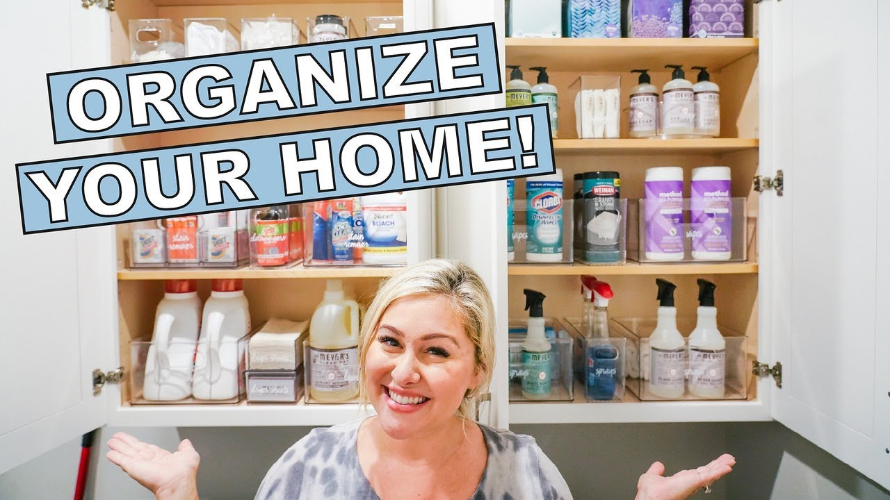 LAUNDRY ROOM ORGANIZATION WITH THE HOME EDIT! - YouTube