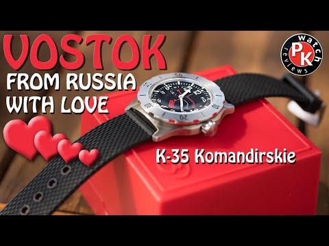 Russia's Gift To The World Vostok K-35 Komandirskie
