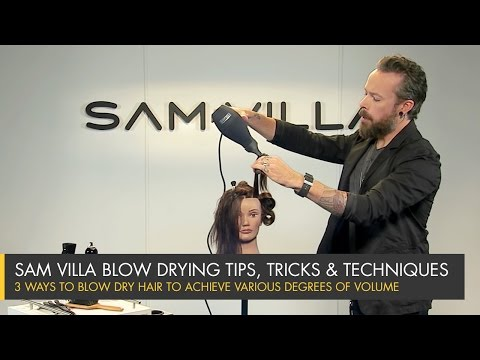 3 Ways To Blow Dry Hair To Achieve Various Degrees of Volume