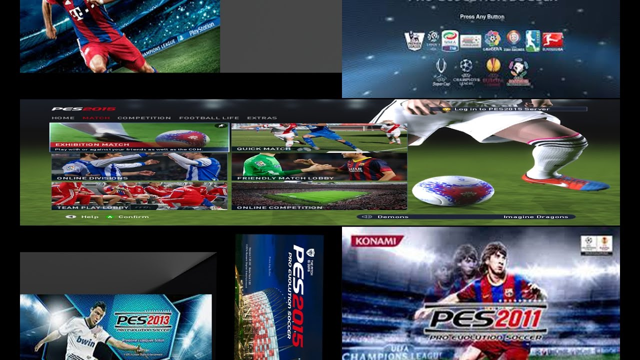 Pes 2011;2012;2013;2014;2015;2016 review and download high.