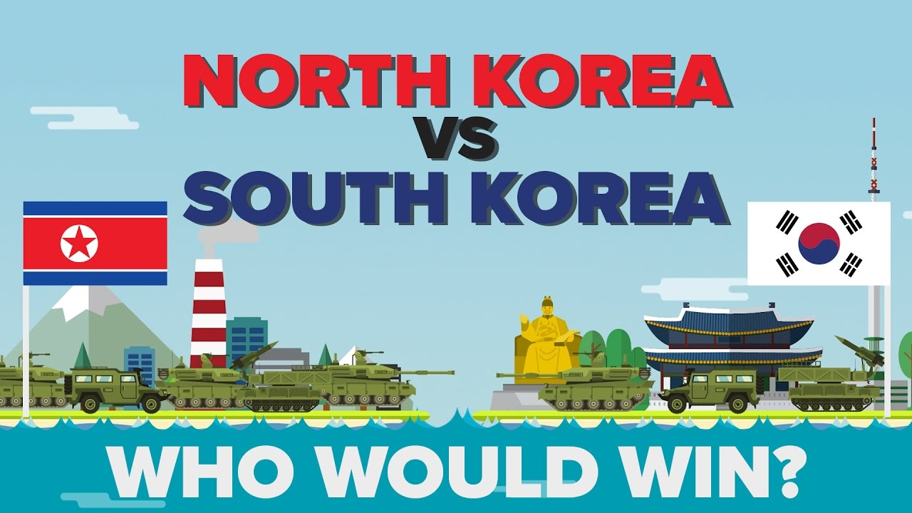 Image result for north korea vs south korea