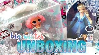 Unboxing OMG CRYSTAL STAR L.O.L Surprise and compare with ELSA Frozen 2