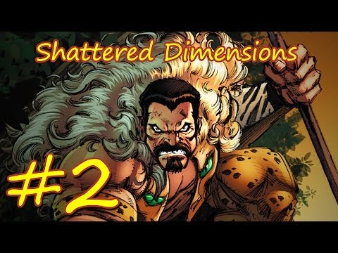 Прохождение Spider-man Shattered Dimensions эпизод 2 [Амазинг] КРАВЕН