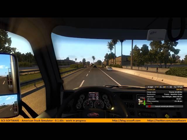 American Truck Simulator (видео)