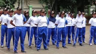 SIMULASI LOMBA PASKIBRA SMA NEGERI 109 JAKARTA