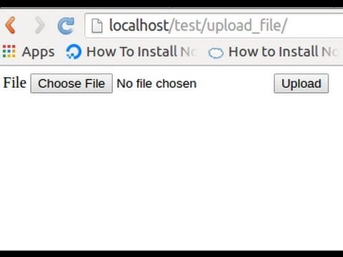 PHP tricks - Upload file to different server with move_uploaded_file()