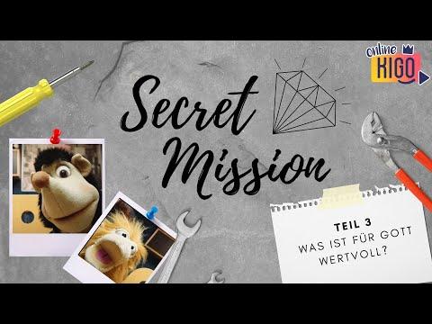 Online KiGo I Secret Mission Woche 3 I Wertvoll