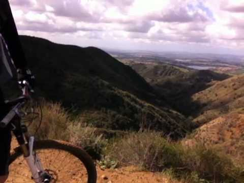 4.14.12 Up Santiago Truck Trail To Old Camp. Part 1 of 2