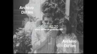 DiFilm - Walter Vidarte y Ana Maria Picchio en San Sebastian 1968
