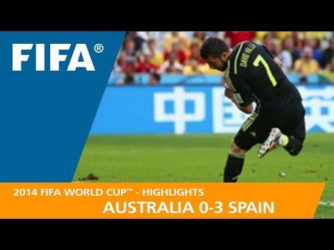 AUSTRALIA v SPAIN (0:3)  - 2014 FIFA World Cup™