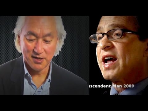 Michio Kaku & Ray Kurzweil - Singularity is Close!