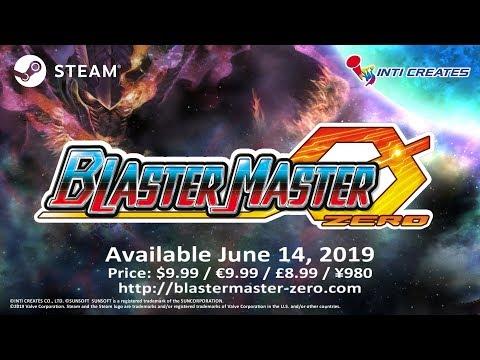Blaster Master Zero blasts onto Steam next month