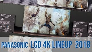 Panasonic LCD TV Lineup 2018 (FXW724, FXW654, FXW604) - german!