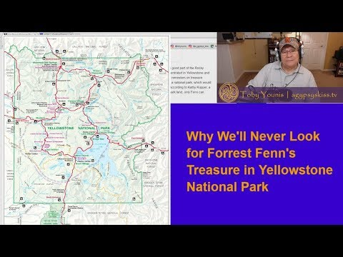 Why Shelley and Toby Will Never Search for Forrest Fenn's Treasure in Yellowstone Park