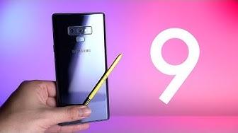 Review: Samsung Galaxy Note 9 (Deutsch) | SwagTab