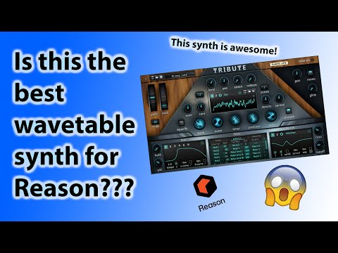First Look   Tribute A Brand New Wavetable Synth For Reason