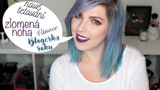 Blogerka roku, zlomená noha, nové tetování | Pohodový Pátek