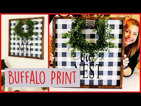 You Can Paint Buffalo Check | DIY Buffalo Plaid | Buffalo Plaid Tutorial