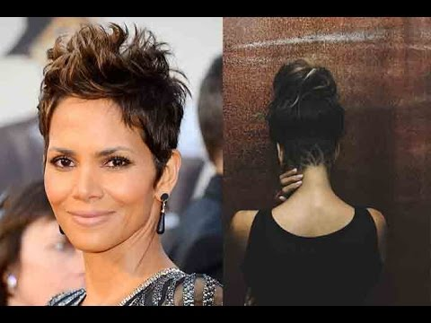 halle berry hair styles halle berry shares photo of edgy new haircut 5675 | hqdefault