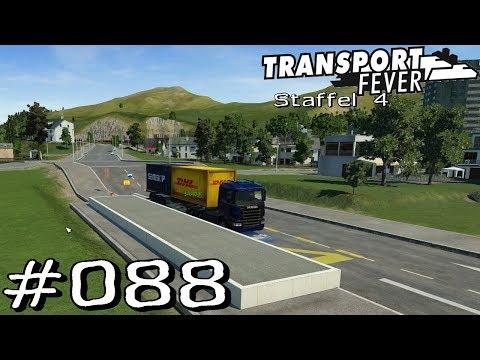 Transport Fever S4 #088 - Güterversorgung Aschaffenburg Süd [Gameplay German Deutsch]