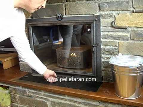 Quemar pellets en chimeneas de le a youtube - Chimeneas de pellets ...