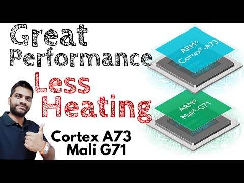 ARM Cortex A73 & Mali G71 Explained | Performance without Heating