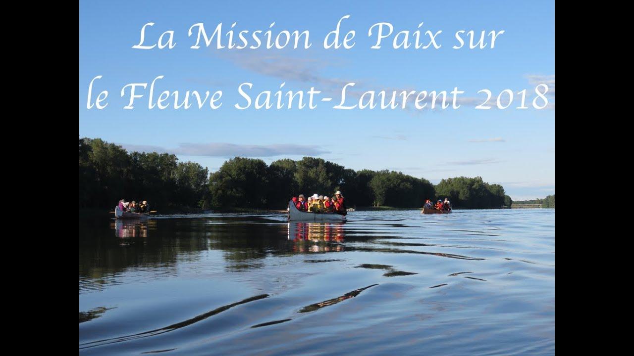 Diaporama de La Mission de Paix sur le Fleuve Saint-Laurent  2018