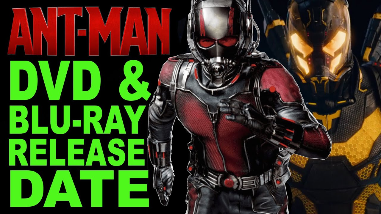 Ant-Man DVD & Blu-Ray Release Date Revealed - YouTube