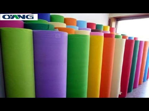 Single S 1600 PP Spunbond Non Woven Fabric Making Machine